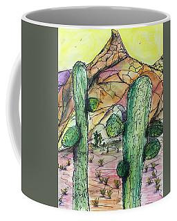Mexican Desert Coffee Mug