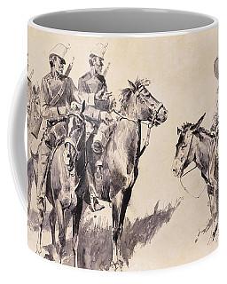 Mexican Gendarmes Asking The Way Coffee Mug