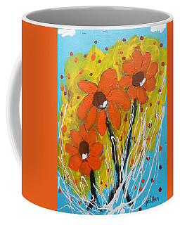 Mexican Sunflowers Flower Garden Coffee Mug