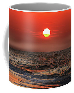 Mexico Beach Sunrise Coffee Mug