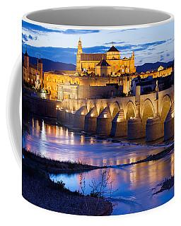 Cathedral Mosque And Roman Bridge In Cordoba Coffee Mug