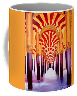 Mezquita De Cordoba Coffee Mug by Manuel Sanchez