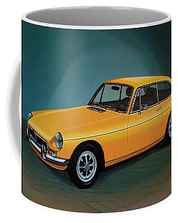 Mgb Gt 1966 Painting  Coffee Mug by Paul Meijering