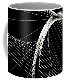 Coffee Mug featuring the photograph Mhhbridge Morning Fog by Diana Mary Sharpton
