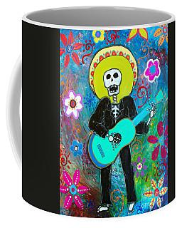 Coffee Mug featuring the painting Mi Carino by Pristine Cartera Turkus