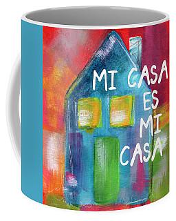 Mi Casa Es Mi Casa- Art By Linda Woods Coffee Mug