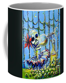 Coffee Mug featuring the painting Mi Chardonnay by Heather Calderon
