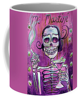 Coffee Mug featuring the painting Mi Martini by Heather Calderon