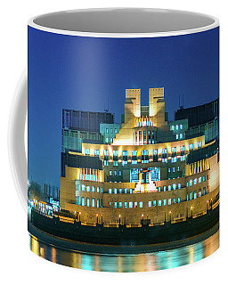 Coffee Mug featuring the photograph Mi6 by Stewart Marsden