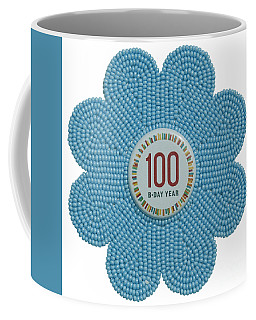 Mia Light Blue Coffee Mug