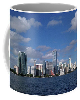 Coffee Mug featuring the photograph Miami Florida by Gary Wonning