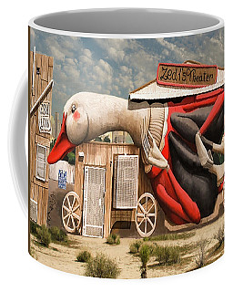 Coffee Mug featuring the digital art Miami Graffiti by Jeff Burgess
