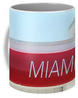 Miami Sign Coffee Mug