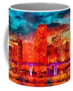 Miami Skyline Coffee Mug