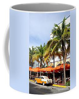 Miami South Beach Ocean Drive 8 Coffee Mug