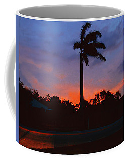 Miami Sunset Coffee Mug