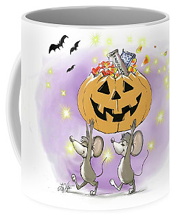 Mic And Mac's Happy Halloween Pumpkin Treats Coffee Mug