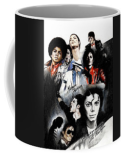 Michael Jackson - King Of Pop Coffee Mug