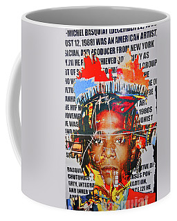 Michel Basquiat Coffee Mug