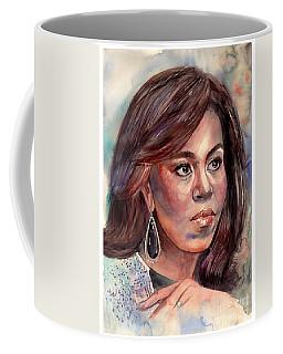 Michelle Obama Portrait Coffee Mug