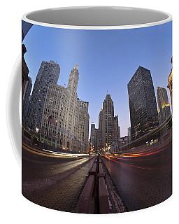 Michgan Avenue Action Coffee Mug