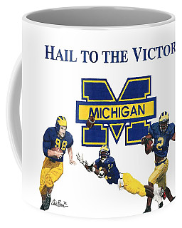 Michigan Heismans Coffee Mug