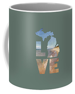 Michigan Love Coffee Mug