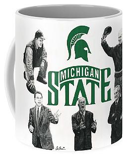 Michigan State Coaching Legends Coffee Mug