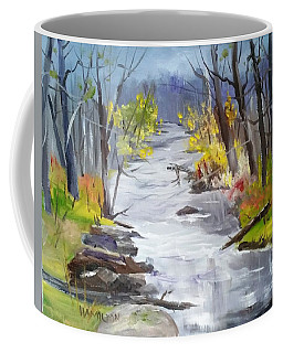 Michigan Stream Coffee Mug