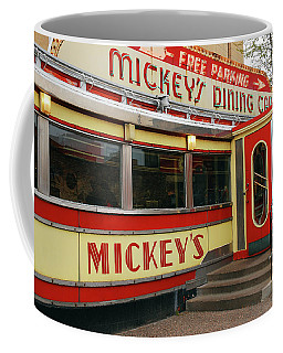 Mickeys Coffee Mug by James Kirkikis