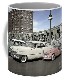 Micro Car And Cadillac Coffee Mug