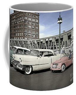 Micro Car And Cadillac Coffee Mug by Martin Konopacki Restoration