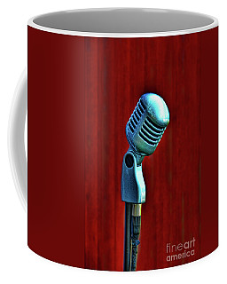 Microphone Coffee Mug by Jill Battaglia