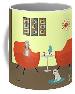 Mid Century Modern Dogs 1 Coffee Mug