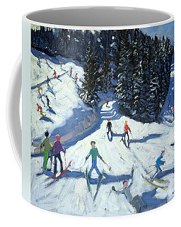 Mid-morning On The Piste Coffee Mug