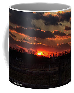 Coffee Mug featuring the photograph Mid Ohio Sunset by Bruce Patrick Smith