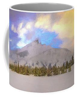 Mid-winter Sunset Coffee Mug
