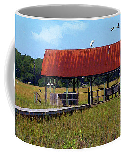 Midday On The Island Coffee Mug by Deborah Smith