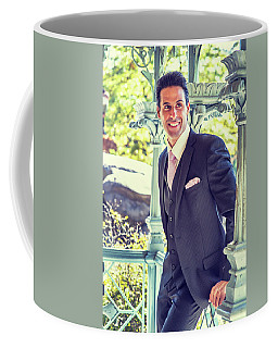 Middle Age Man Waiting For You Coffee Mug