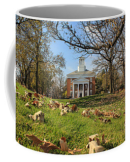 Coffee Mug featuring the photograph Middle College On An Autumn Day by Viviana  Nadowski