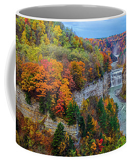 Middle Falls Peak Coffee Mug