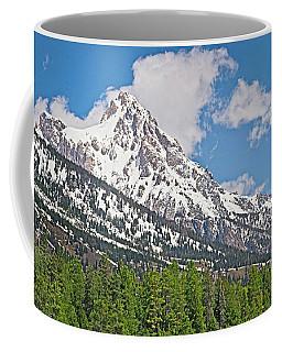 Middle Teton Panorama Coffee Mug
