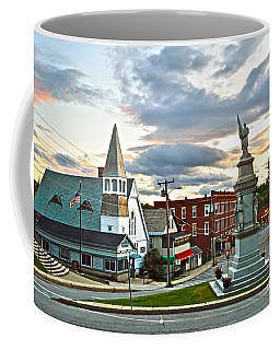 Middlebury Vermont At Sunset Coffee Mug by Catherine Sherman
