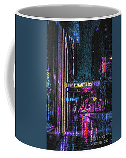 Midnight At Tiffany Painting Coffee Mug