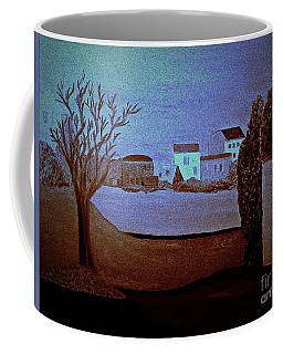 full moon in Italy  bill oconnor Coffee Mug