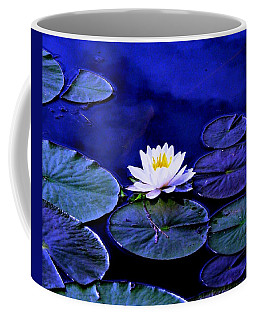 Midnight Blues Coffee Mug by Angela Davies