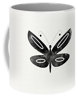 Midnight Butterfly 1- Art By Linda Woods Coffee Mug
