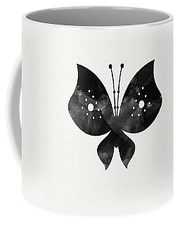 Midnight Butterfly 2- Art By Linda Woods Coffee Mug