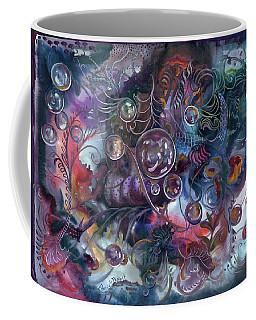 Midnight Dancing Bubbles Coffee Mug