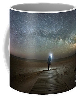 Midnight Explorer At Assateague Island Coffee Mug